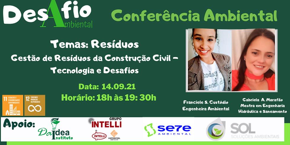 2ª Conferência Ambiental - 1 Gestão de Residuos