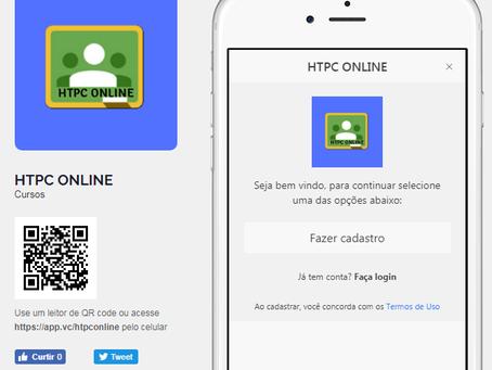 Aplicativo HPTC ONLINE