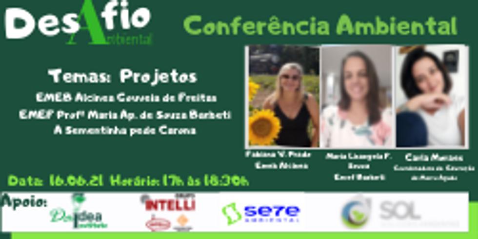 1ª Conferência Ambiental -4  Projetos