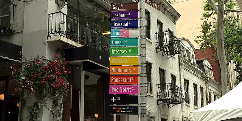 History of Pride: Through Slides w/ Christopher Street Tours