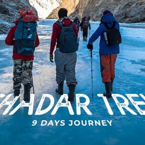 Chadar Trek In Ladakh