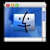 Mac smiley face mini desktop window