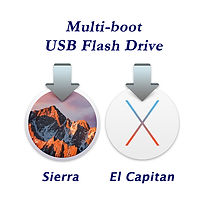 2 Systems on 1 USB Bootable Flash Drive
