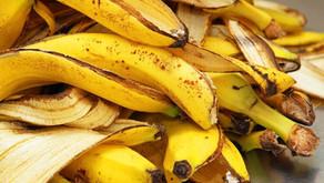 ¿Qué hacer con las cáscaras de plátanos?