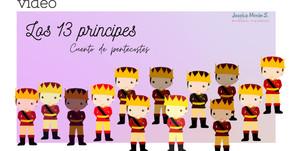 Cuento narrado Los trece príncipes.
