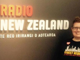 Radio New Zealand interview