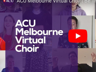 ACU virtual choir, 2020