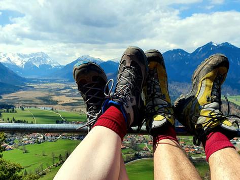 Heldenkreuz zum Osterfeuerkopf - Ein Hochalpiner Gipfelgrat im Vorgebirge