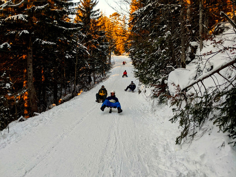 A Hike, A Sleigh And A New Year