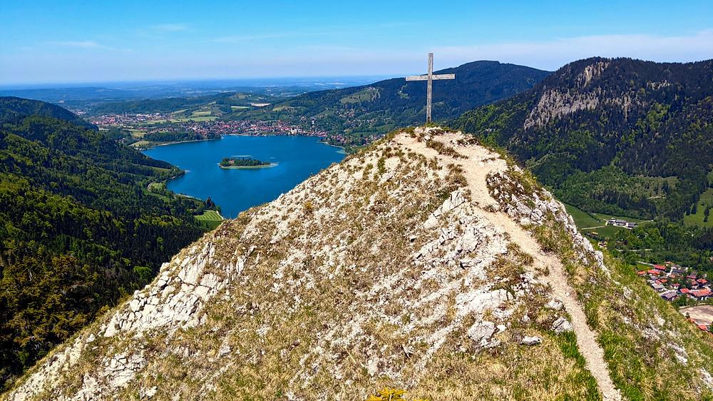 Das Gipfelkreuz der Dürnbachwand