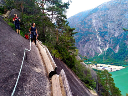 One Day in: Eidfjord - Climbing the  Kjeasen, a Norwegian Gem