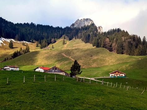 Vier Gipfel am Samerberg - Gratwandern, Klettersteig & Freiklettern