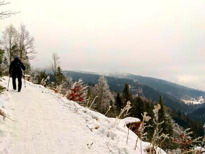 Winter Hike Towards The Grindelalmschneid