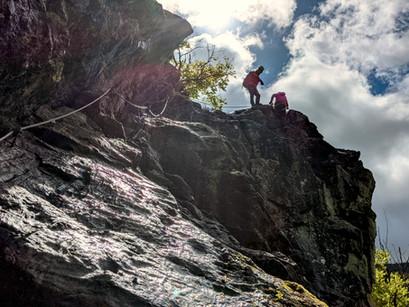 Der Todtnauer Klettersteig - Ein Paradies für Anfänger