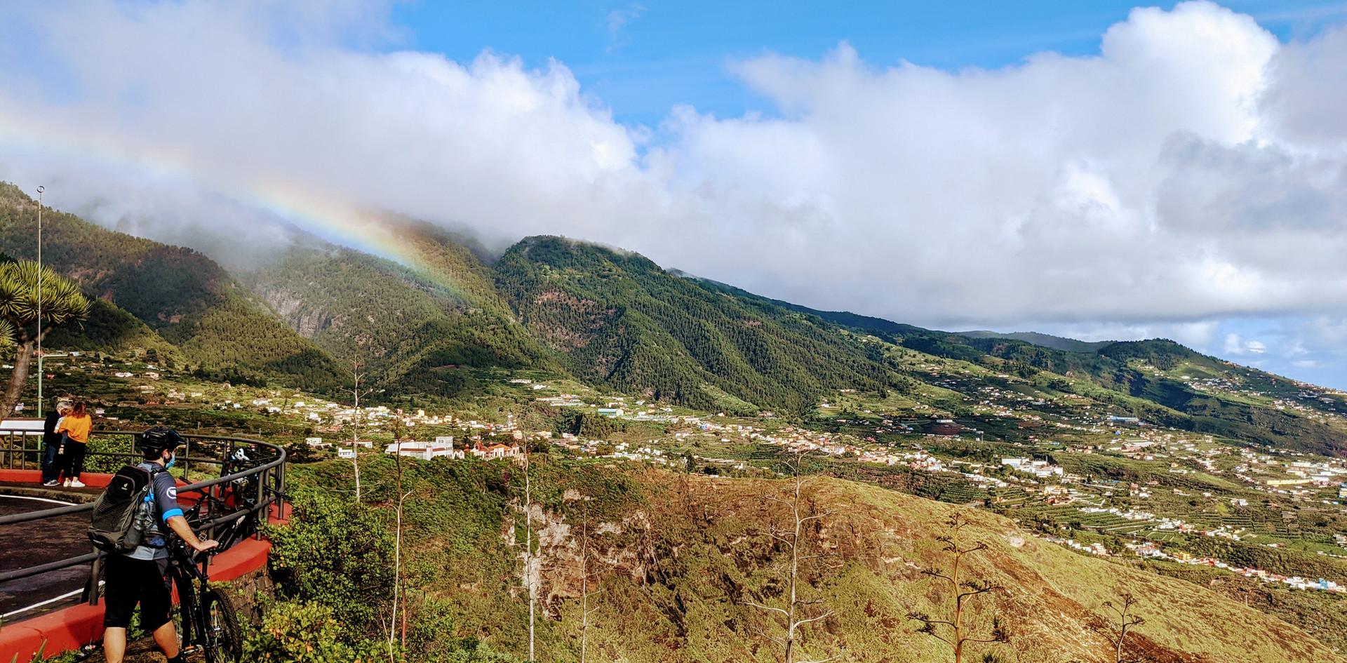Ein Regenbogen zur Belohnung