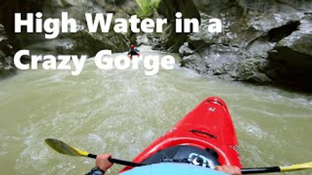 High Water Lap in the Lammer Gorge