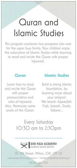 Quran and Islamic Studies