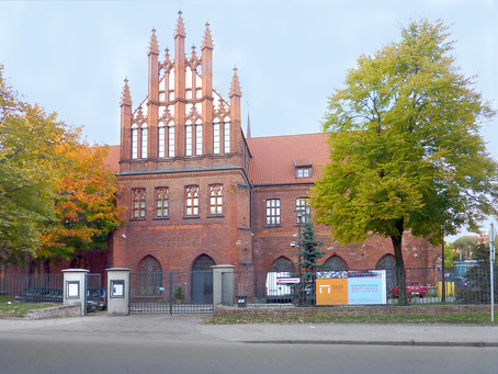 Pola Dwurnik at the National Museum in Gdańsk, Art Palace, Poland