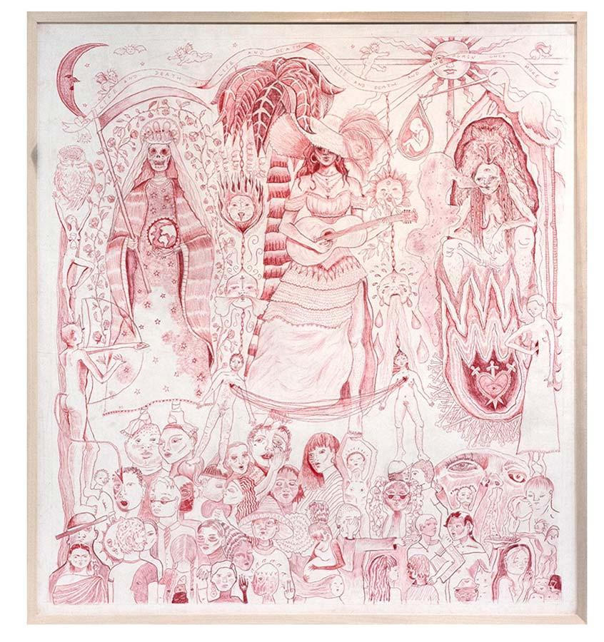 Alexi Marshall drawing