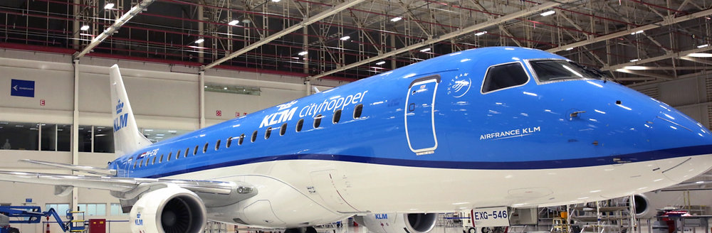 KLM was the first European carrier to operate the Embraer 175 with enhancements. Photo/KLM