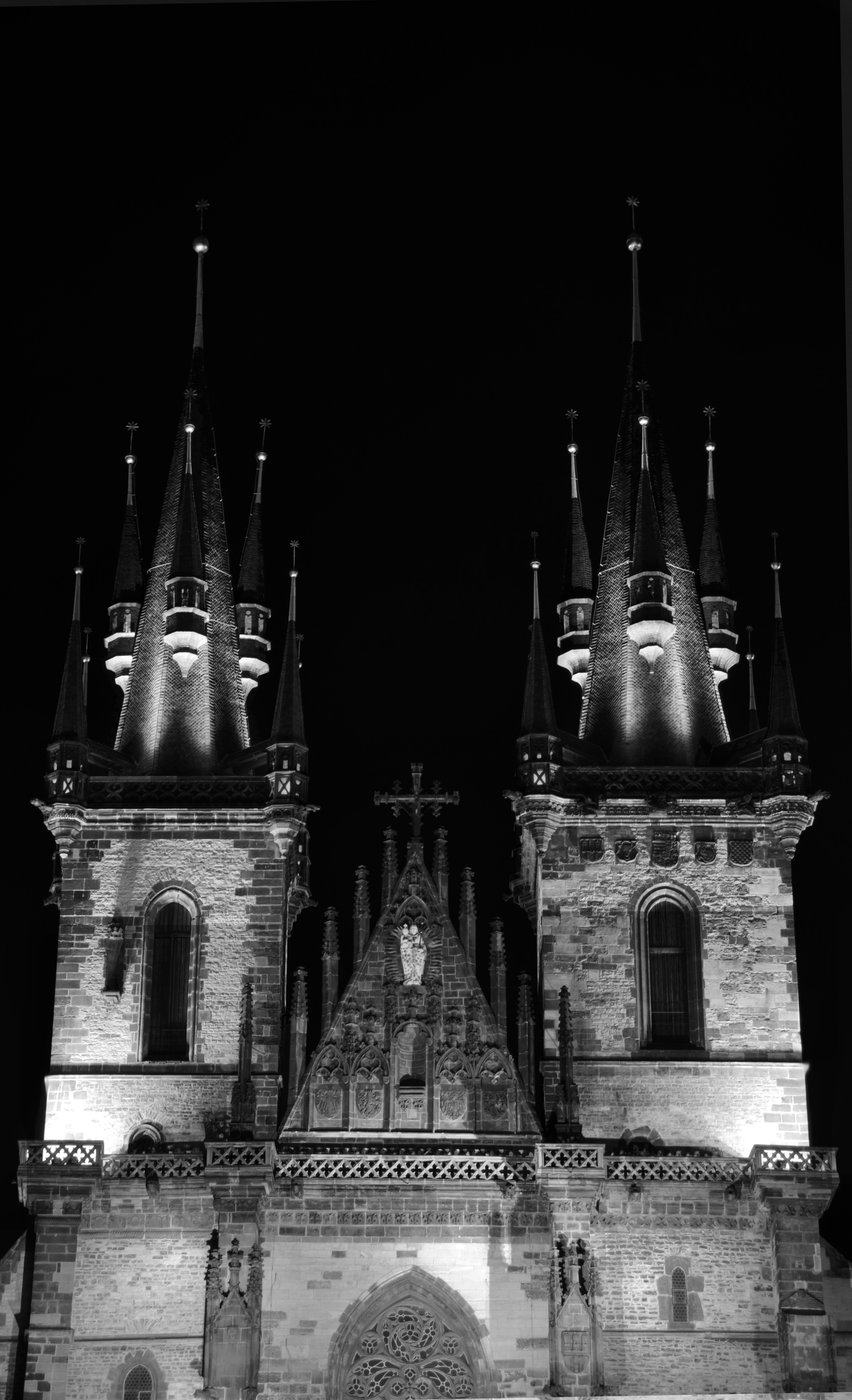 Castle at Night Prague 2013