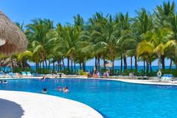 Commercial shot Paradise Beach Cozumel