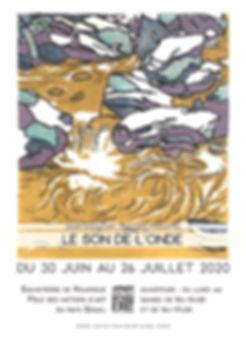 Affiche A3 bords perdus didier gauduchon