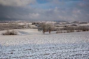 Le Ségala sous la neige