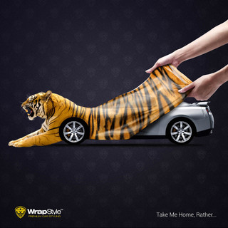 Wrapstyle - Creative poster design by BA