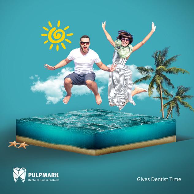 PULPMARK - Creative poster design by BAS