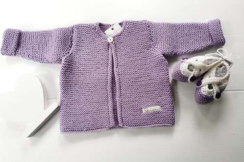 SALE Garter Cardigan and CrossOver Shoes Set