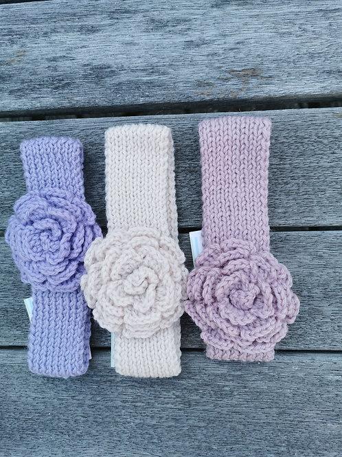Head Band - Rose Flower