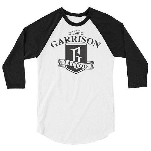 Garrison 3/4 sleeve baseball shirt