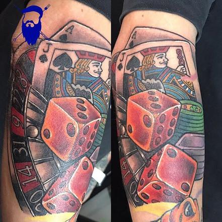 Super rad gambler piece on _villevalohim