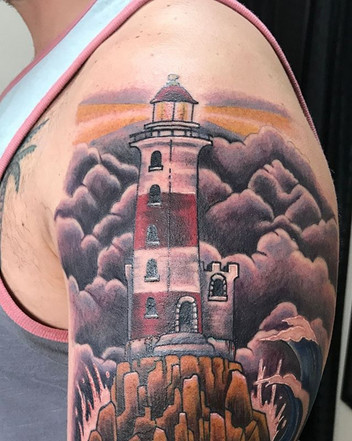 Got to finish this lighthouse project th