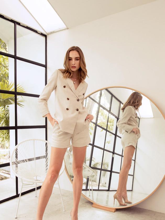 Cassia Jacket - Cassia Shorts