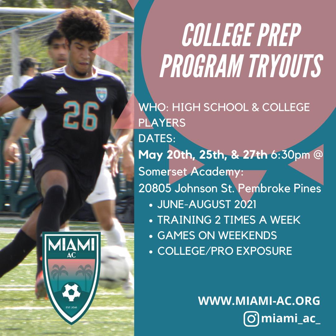 College/Pro Prep Program