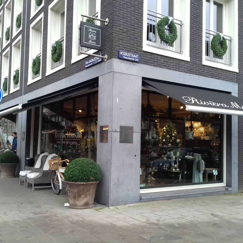 Street corner next to Vondelpark