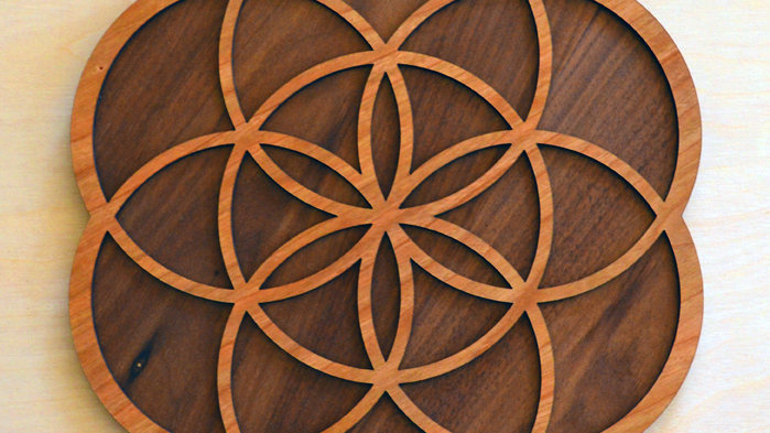 The Seed of Life Wall Art