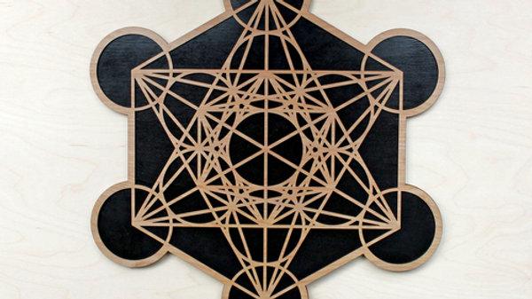 Metatron's Cube Wall Art