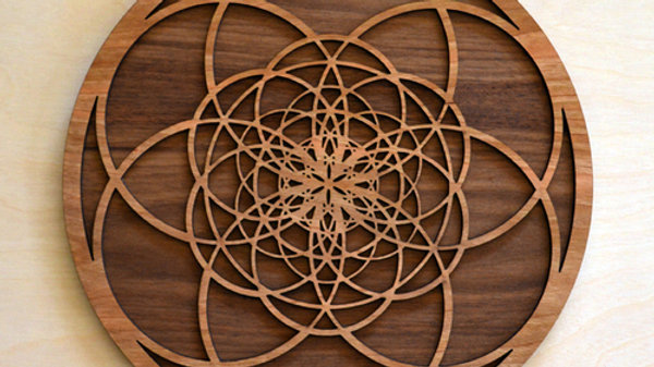 Fibonacci Seed of Life Wall Art