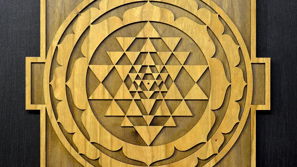 Sri Yantra Mandala Wall Art