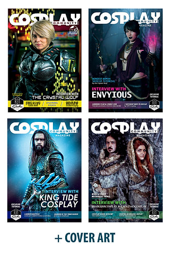Print - 4 Issues per Year - Cosplay Community Magazine