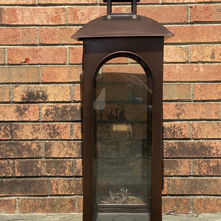 Bronze Large Floor Lanterns