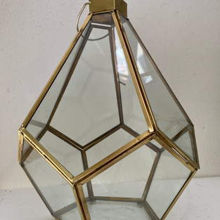 Lightbulb Geo Lantern