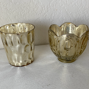 Luxe Gold Votive Collection