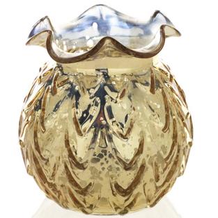 Gold Fish Bowl Vase