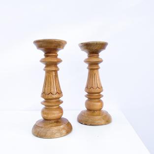 Wooden Decorative Pillars