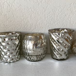 Luxe Silver Votive Collection