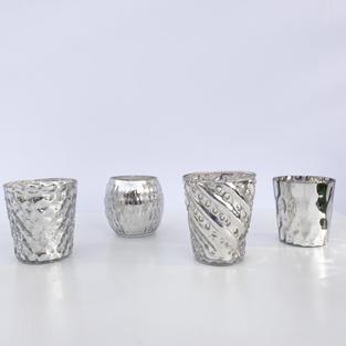 Luxe Silver Votives